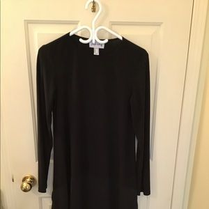 Basic Joseph Ribkoff black tunic